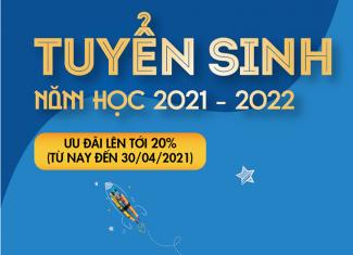 Hệ thống Trường Xanh Tuệ Đức tuyển sinh năm học 2021-2022